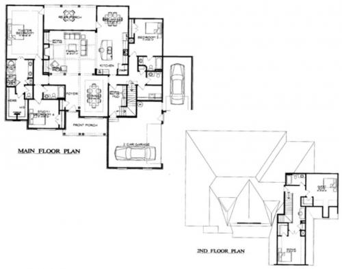 The Belmont Floor Plan