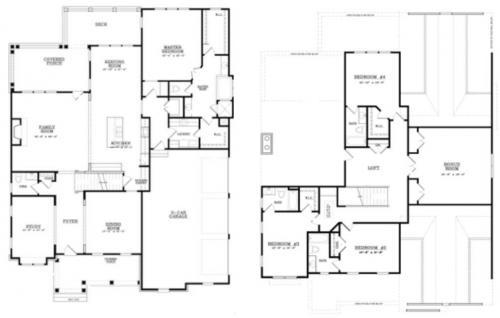 The Birchwood Floor Plan