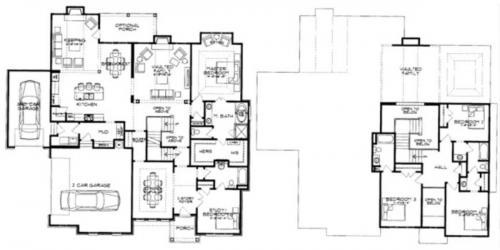 The Charleston Floor Plan