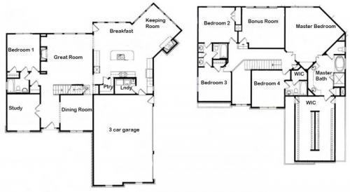 The Edenshire Floor Plan
