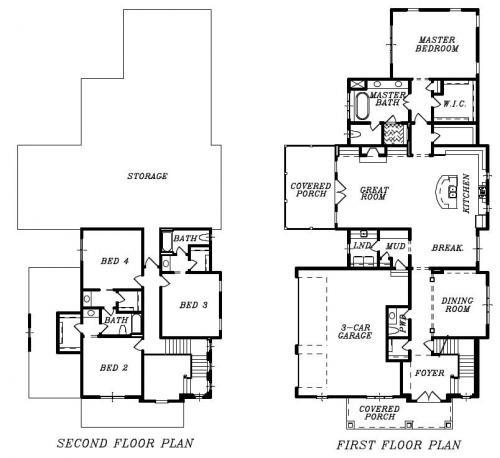 Leigh Carriage Floor Plan