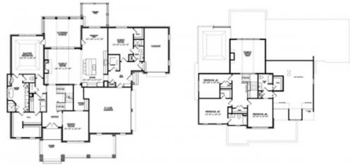 The Sweetwater FloorPlan