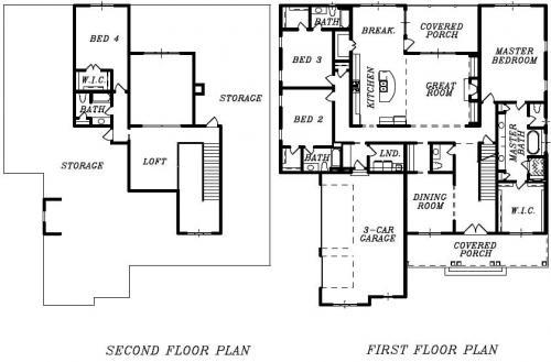 The Westhaven Floor Plan